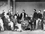 Richard Wagner mit seinen Mitarbeitern, 1903