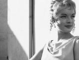 Romy Schneider in der Rolle der Lysistrata, 1961