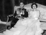 Schahs Reza Pahlevi und Kaiserin Soraya, 1951
