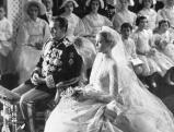 Rainier III. mit Gracia Patricia, 1956