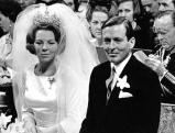 Prinz Claus und Prinzessin Beatrix, 1966