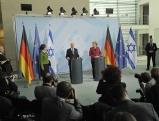 Shimon Perres und Angela Merkel, 2010