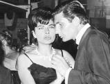 Soraya Esfandiary mit Gunter Sachs, 1962