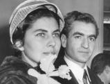 Kaiserin Soraya und Schah Ahmed Reza Pahlevi, 1954