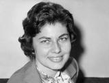 Soraya Esfandiary nach ihrer Scheidung von dem iranischen Schah Reze Pahlevi, 1958