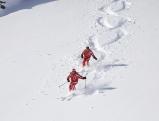 Skifahrer im Hochpustertal, 2009
