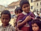 Kinder in Nepal, 1986