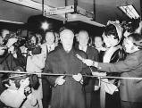 Bruno Merk bei der Eroeffnung der U-Bahn am Marienplatz, 1971