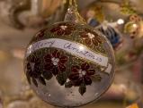Christbaumkugel \'Merry Christmas\'