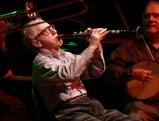 Woody Allen spielt Klarinette bei einem Auftritt in der Philharmonie Muenchen, 2010