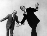 Louis de Funes und Yves Montand, 1971