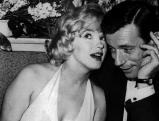 Marilyn Monroe und Yves Montand, 1960