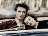 """Yves Montand und Edith Piaf im Film \""""Chanson der Liebe\"""", 1945"""