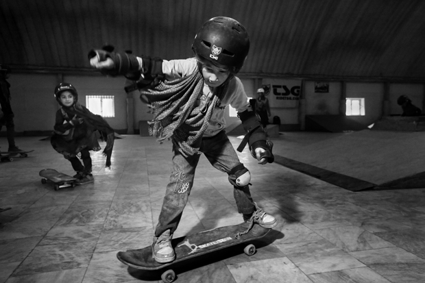 Skateistan in Kabul, 2016
