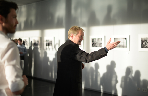 Ausstellungseröffnung Beweggründe
