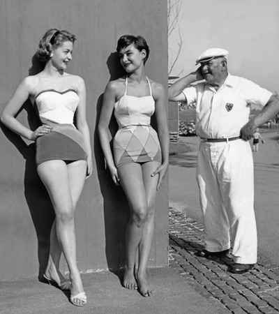 Bademode 1950er Jahre