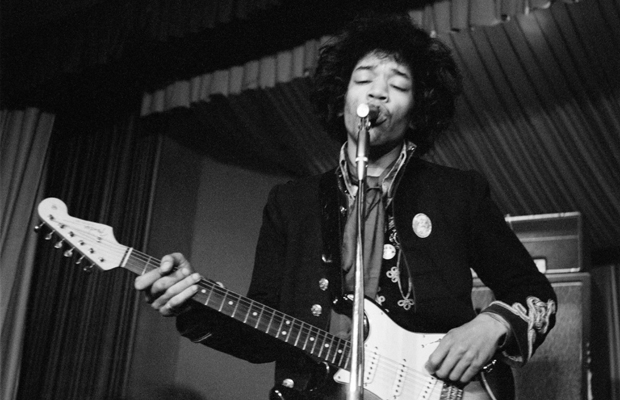 Jimi Hendrix im Hamburger StarClub