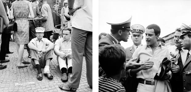 Demonstration für die Freilassung von Fritz Teufel, 1967