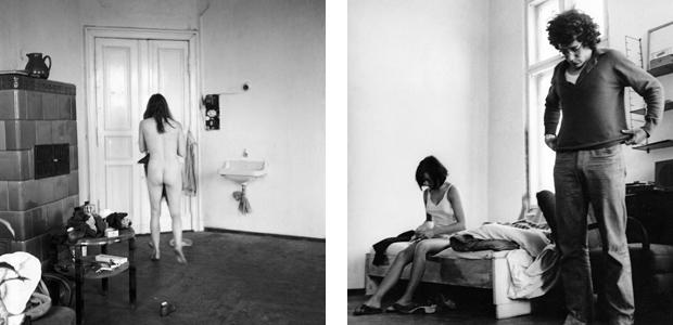 Mitglieder der Kommune 1 nach Entstehen des berühmten Kommune-1-Nacktbildes, 1967