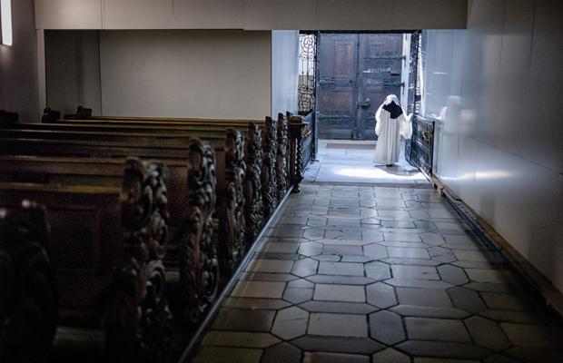 In der Zisterzienserabtei im oberpfälzischen Waldsassen leben heute noch knapp ein Dutzend Nonnen.