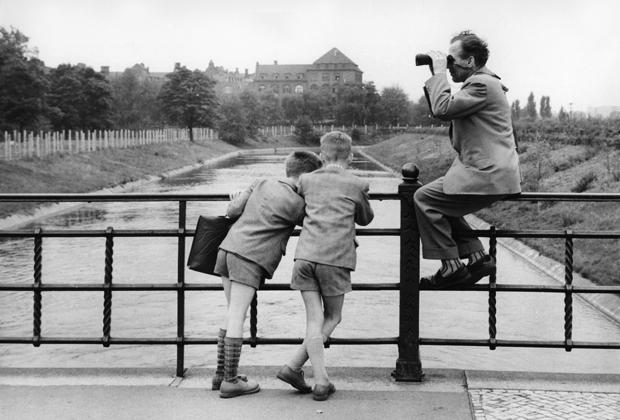 Deutsche-deutsche Grenze in Berlin, 1950er Jahre