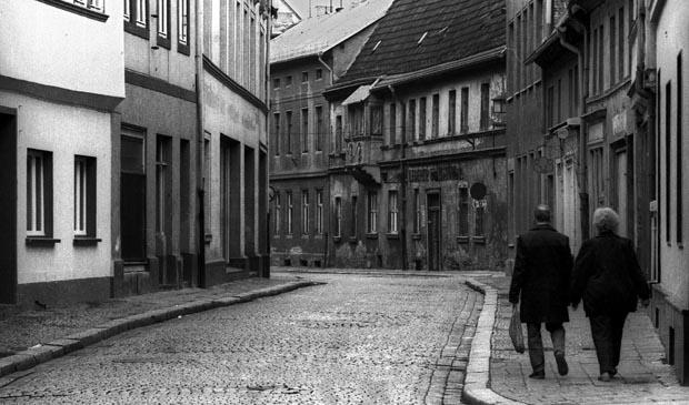 Bundeslaender / DDR-Land / Oktober 1989 Sachsen-Anhalt: Aschersleben: Altstadt //