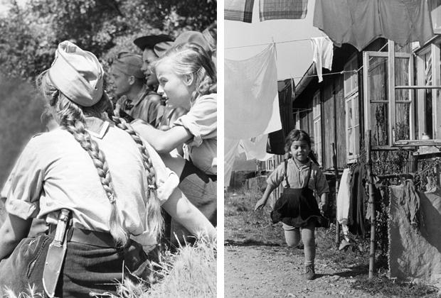 Gegensätzliches Nachkriegsdeutschland, 1950er Jahre