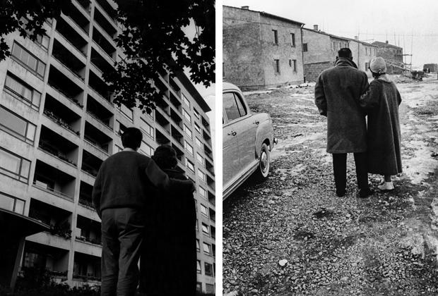 Neuer Wohnraum im Nachkriegsdeutschland, 1950er Jahre