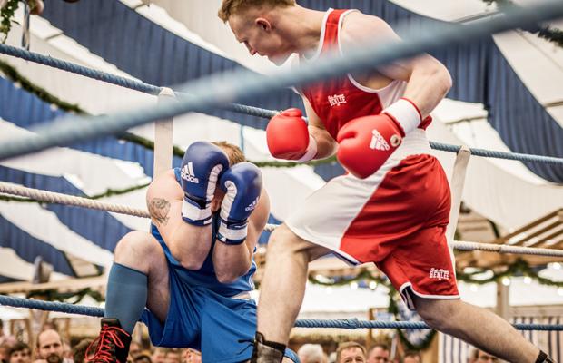 Boxkampf auf der Simbacher Pfingstdult