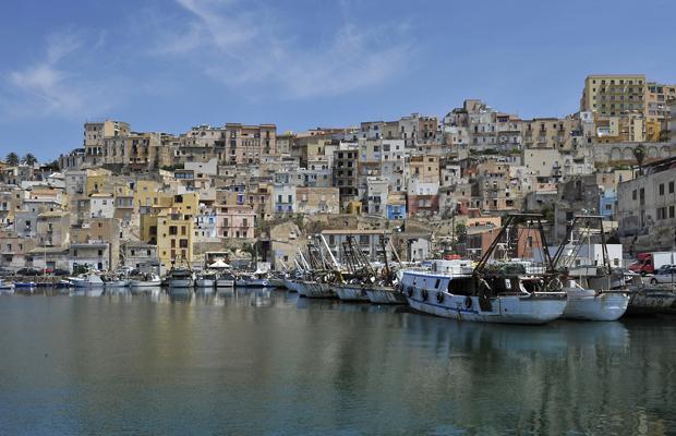 Hafenszenen aus Sciacca