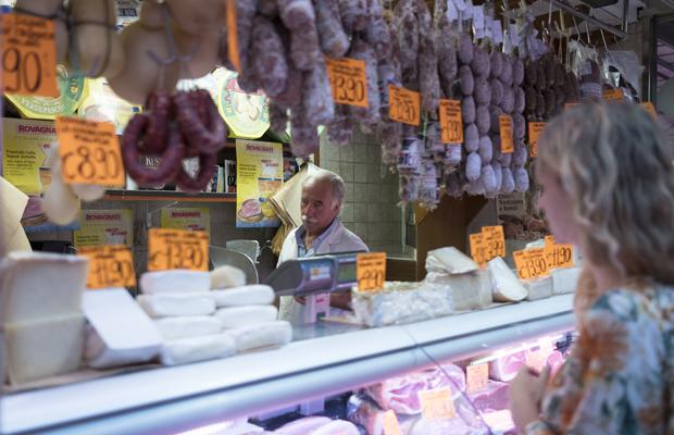 Turin, Markt, Tomaten, Einkaufen, Lebensmittel