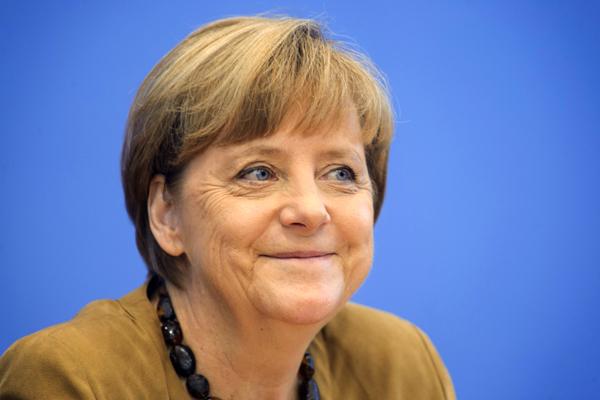 Deutschland, Berlin, 18.07.2014. Pressekonferenz mit der Bundeskanzlerin am 18.07.2014 in der Bundespressekonferenz in Berlin. Dr. Angela Dorothea Merkel (CDU), Bundeskanzlerin. , 18.07.2014